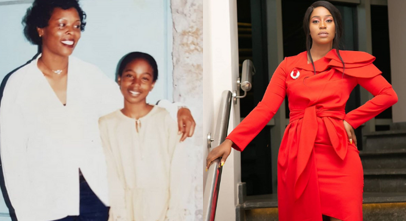 Diana Marua shares never seen before photos with late mother as she turns 51