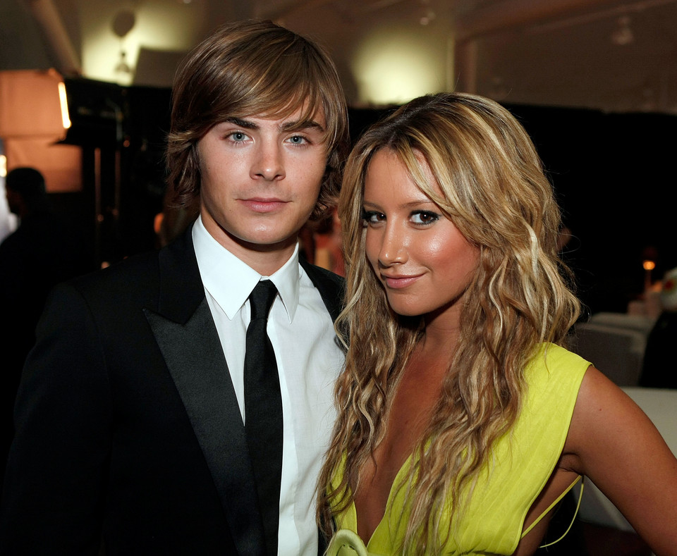 Zac Efron i Ashley Tisdale w 2008 roku