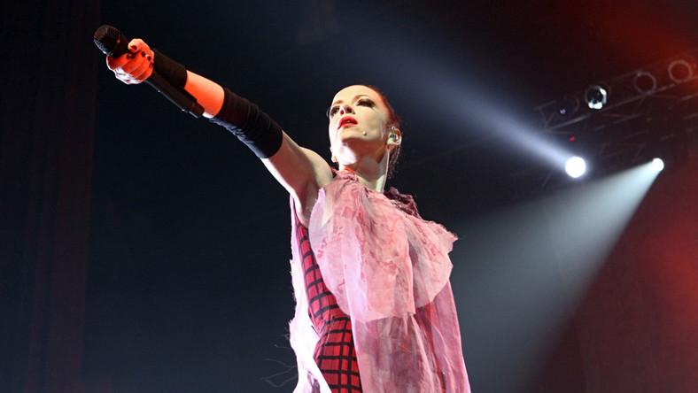 Shirley Manson, wokalistka zespołu Garbage