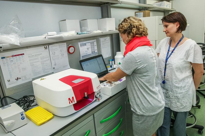 Laboratorium Wydziału Biotechnologii UG
