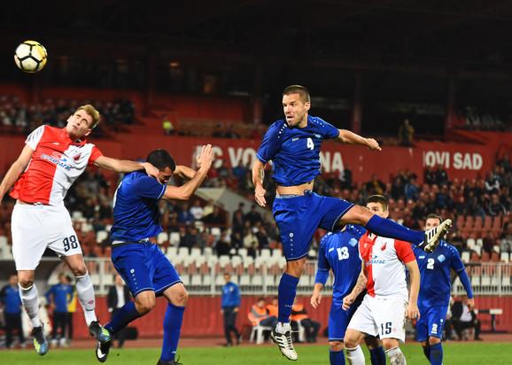 Detalj sa meča FK Vojvodina - FK Radnik