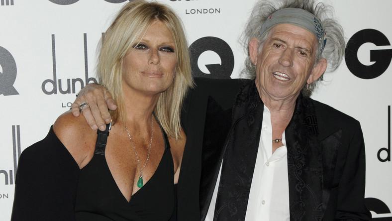 Keith Richards i Patti Hansen na gali GQ Men of the Year Awards