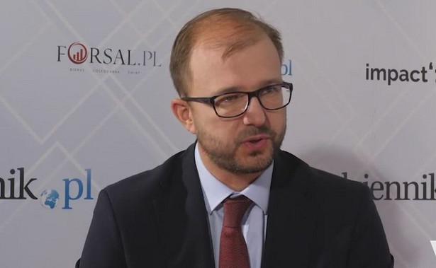 Piotr Dardziński, prezes Sieci Badawczej Łukasiewicz zrzeszającej instytuty badawcze w Polsce