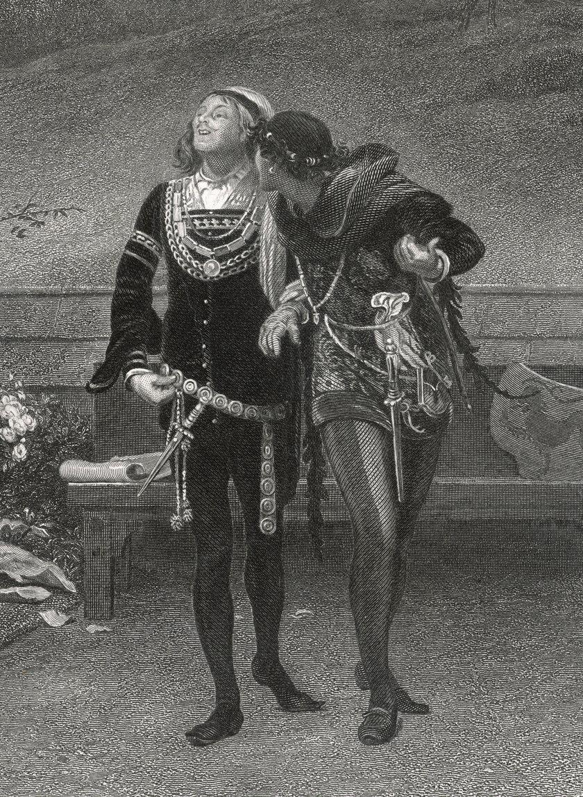Edward II z kochankiem