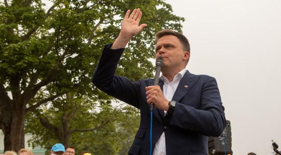 Hołownia: PiS nie może kontynuować idiotycznej władzy i nie ma powrotu do Polski PO