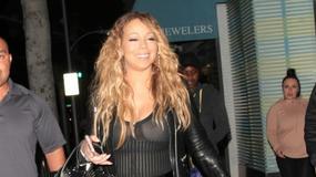 Wpadka Mariah Carey na spacerze
