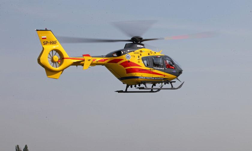 Poparzone dziecko z Brzegu trafiło do szpitala w Opolu.