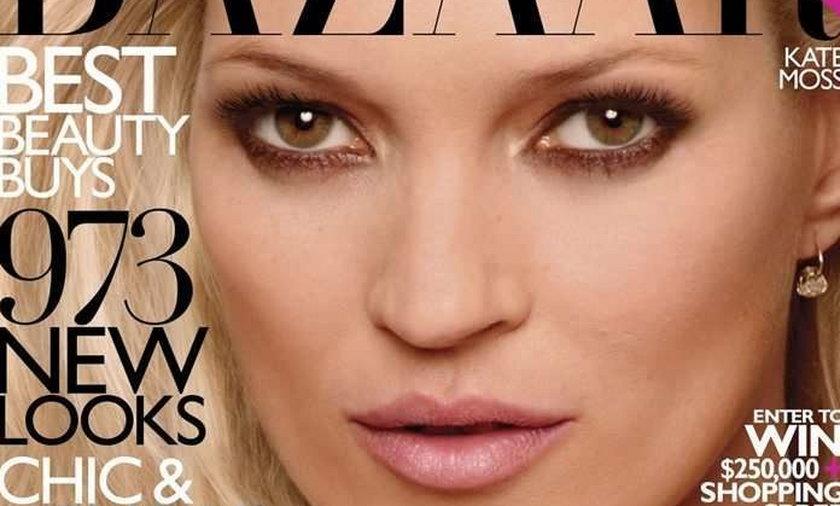 Kate Moss w pełnej seksu sesji. FOTY