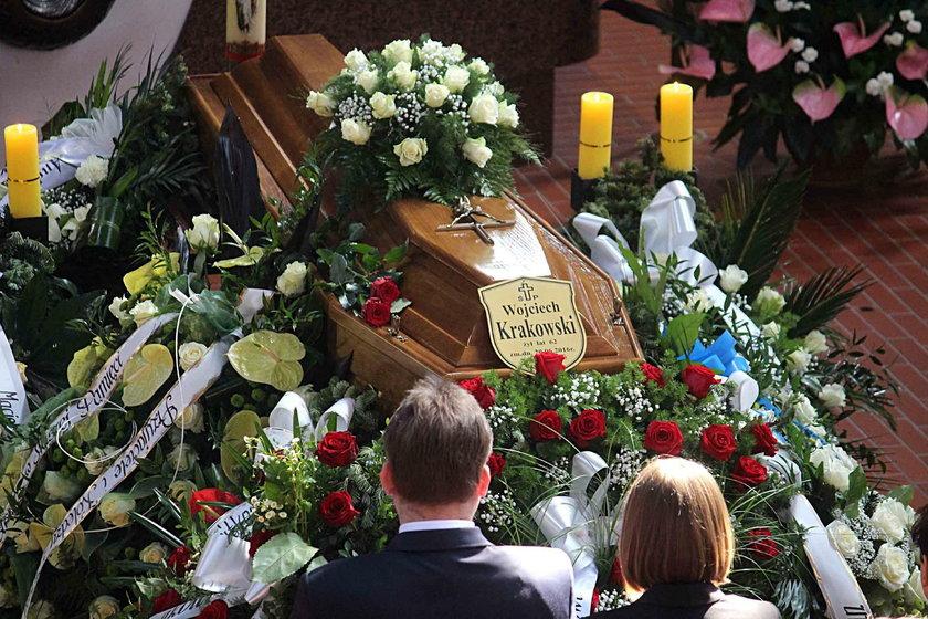 Pogrzeb radnego PO