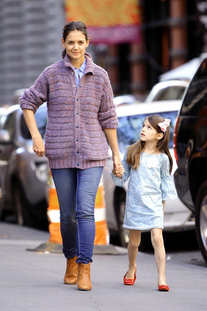 Katie Holmes z córką
