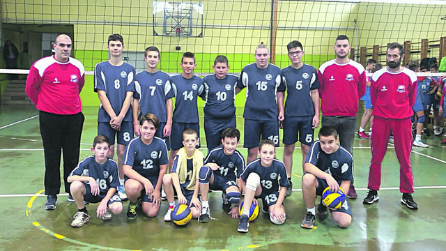 "Pioniri ""Karađorđa"" sa trenerima"