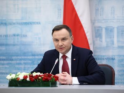 Prezydent Andrzej Duda bierze udział w uroczystościach 100-lecia niepodległości Litwy