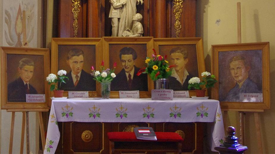 Błogosławieni Męczennicy II Wojny Światowej, kościół Matki Bożej Wspomożenia Wiernych, Poznań