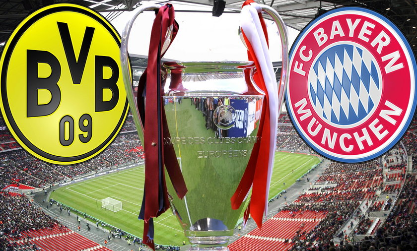 Przygotowania Borussii i Bayernu do finału Ligi Mistrzów