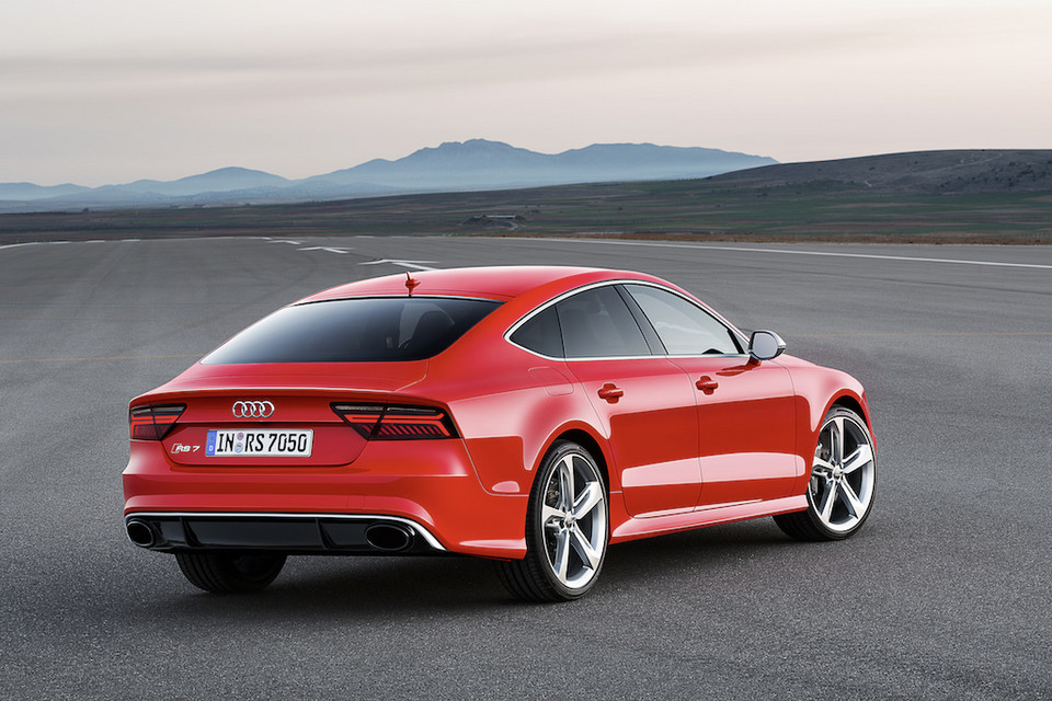 Odnowione Audi RS7