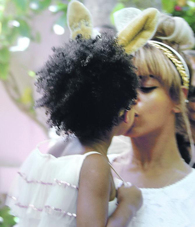 Bijonse i njena ćerka Blu Ajvi Karter