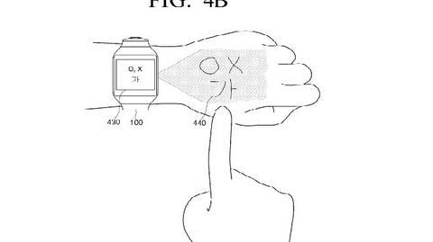 Projekt inteligentnego zegarka Samsunga z wirtualnym interfejsem