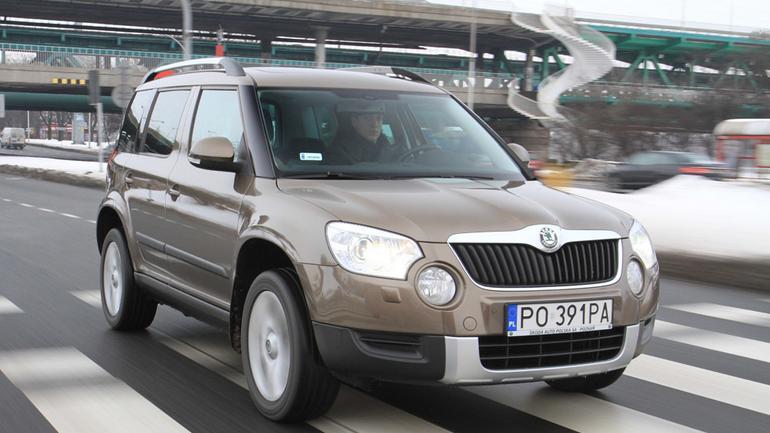 Skoda Yeti: fajny crossover, ale tylko na asfalt