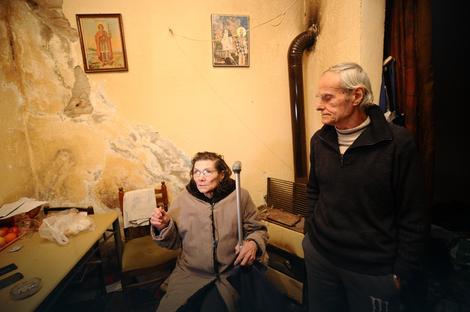 Roditelji ranjenog Aleksandra V.