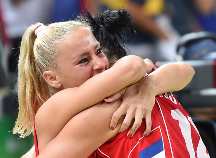Ženska košarkaška reprezentacija Srbije, Ženska košarkaška reprezentacija Francuske