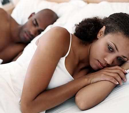 The negative things you say are powerful enough to give your partner sleepless nights [Credit: Shutterstock]
