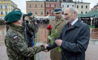 MON: Wojsko pomoże w walce z zagrożeniem powodziowym na Warmii i Mazurach
