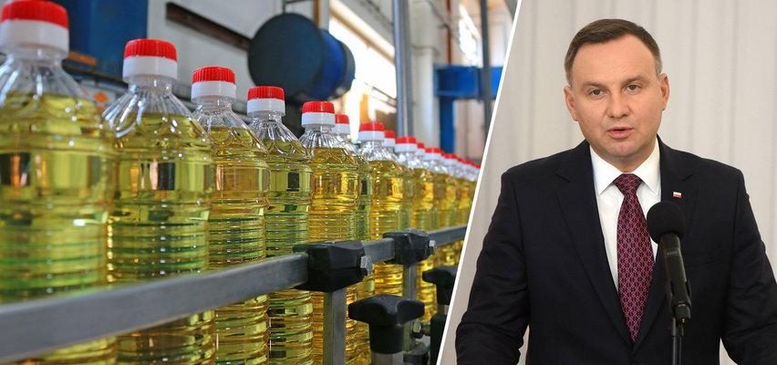 Duda chwalił się, że cena oleju spada. Oto, jaka jest prawda
