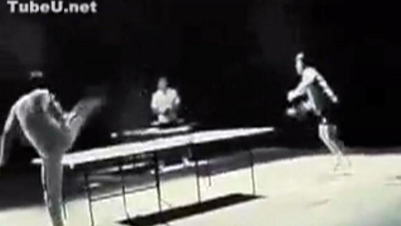 Bruce Lee był mistrzem ping ponga