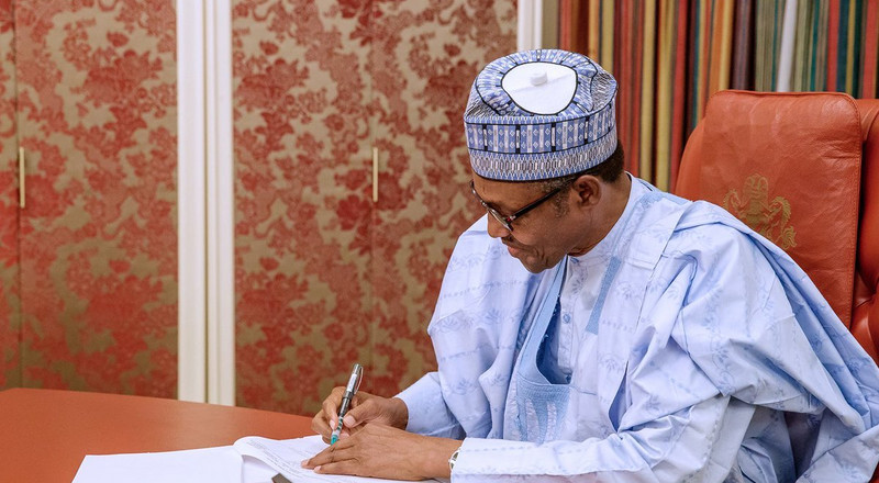 Buhari denies compiling ministerial list during London trip