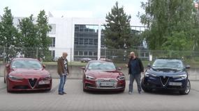 Auta bez ściemy - Alfa Romeo Giulia i Stelvio kontra Audi A5