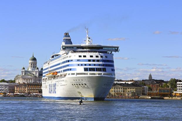 Prom na tle miasta, Helsinki