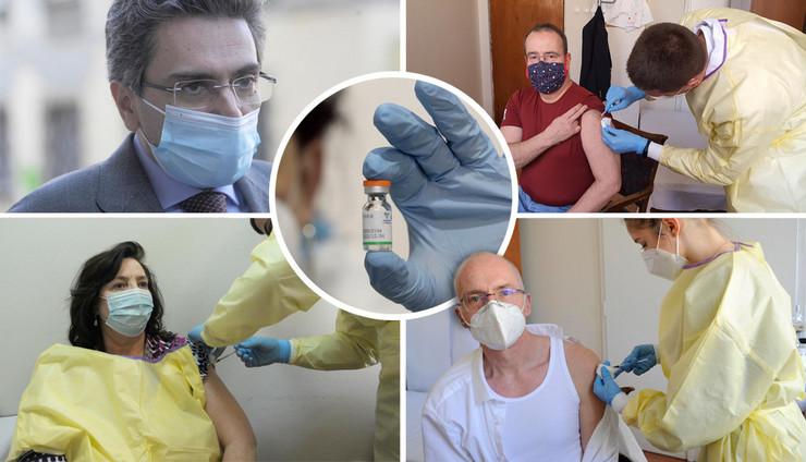 Vakcinacija diplomata u Srbiji