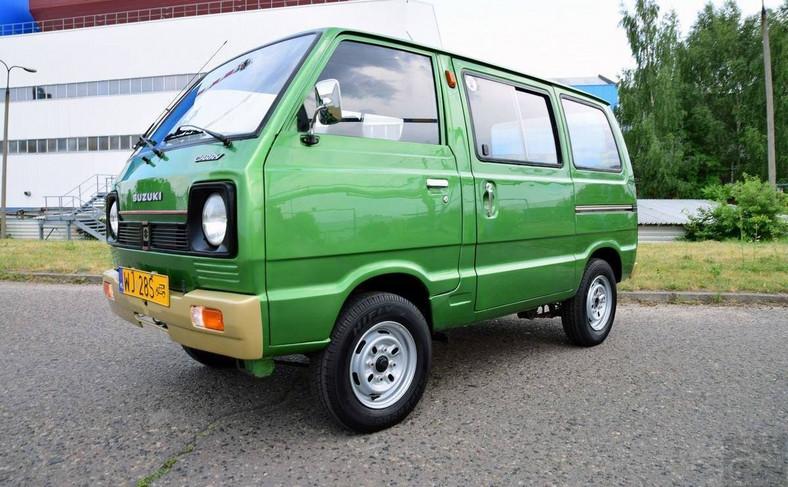 Suzuki Carry ST90V z 1981 roku odrestaurowane przez Złomnika