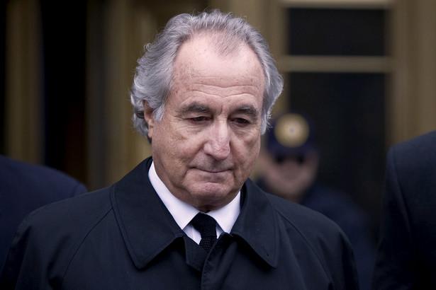 71-letni Madoff został skazany za zdefraudowanie 65 miliardów dolarów na 150 lat pozbawianie wolności. Fot. Bloomberg