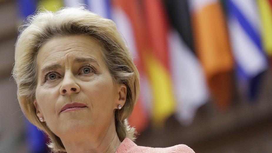 Ursula Von der Leyen wygłosiła orędzie o stanie Unii Europejskiej