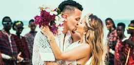 Gwiazdor show TVN z żoną o rajskim ślubie na Zanzibarze. Dlaczego uciekli aż do Afryki?