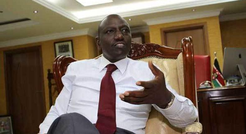 File image of DP Ruto at his office Reports indicate that detectives camped at his office in a bid to establish the truth on his alleged murder plot