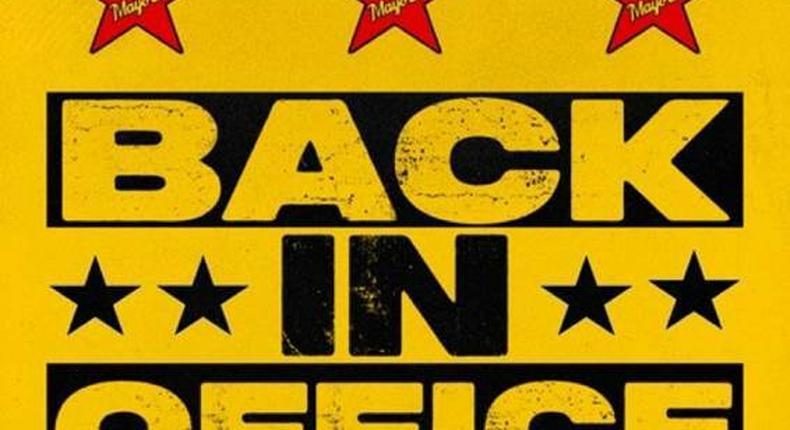 Mayorkun releases new single, 'Back In Office.' (SONY)