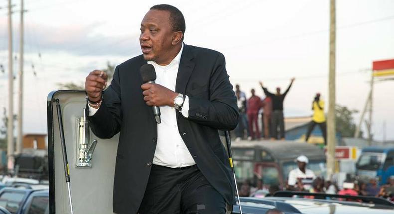 Uhuru criticized for speaking Kikuyu in Kitengela