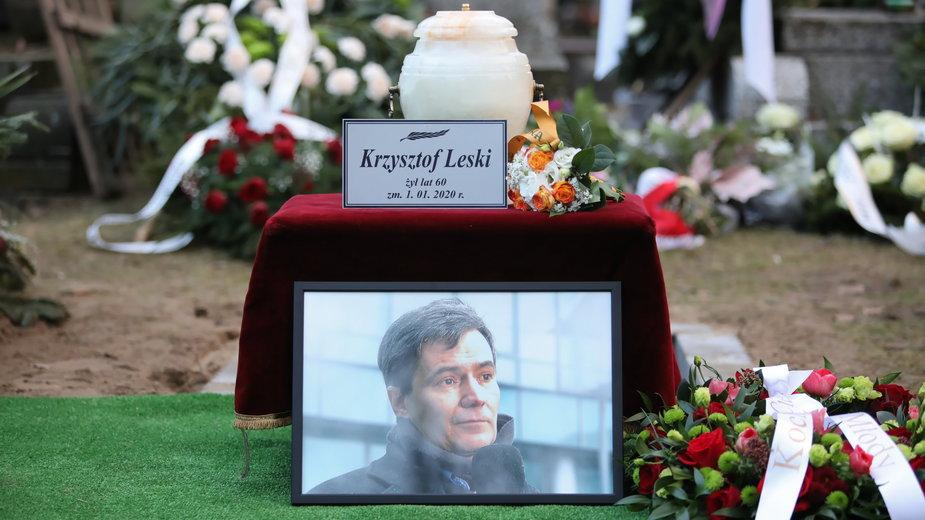 Pogrzeb Krzysztofa Leskiego, 17.01.2020