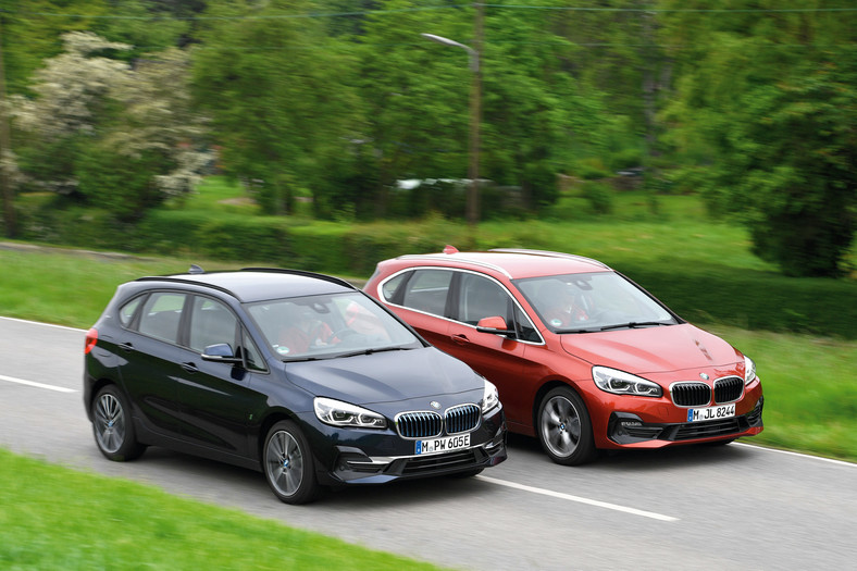 BMW Active Tourer: 225xe kontra 220d