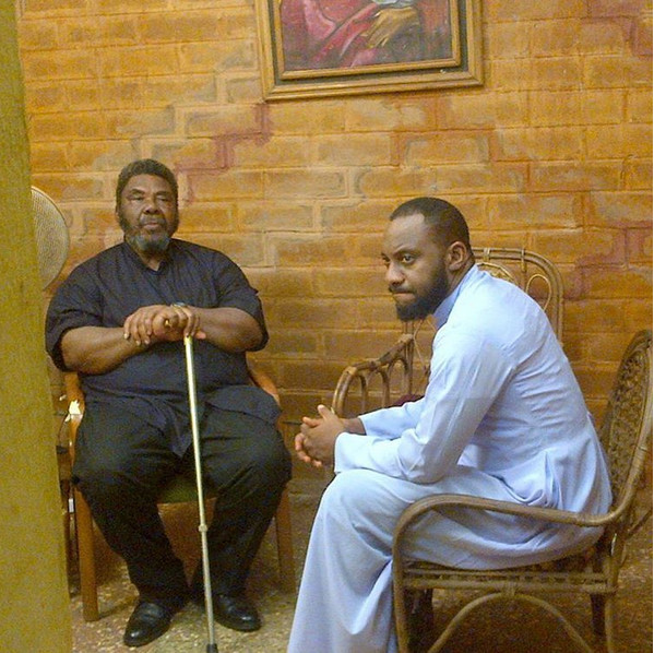 The thirty-eight-year-old actor is the last child of Pete Edochie's six children. Since his sojourn in Nollywood more than a decade ago, he has had a very interesting and promising career. [Allure]