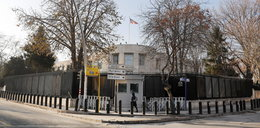 Strzały przed ambasadą USA w Turcji. Napastnik zatrzymany