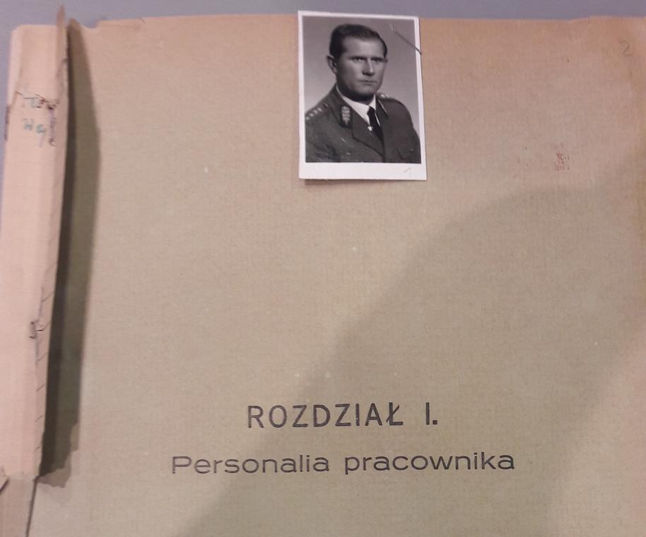 Teczka personalna Leszka Snopkowskiego