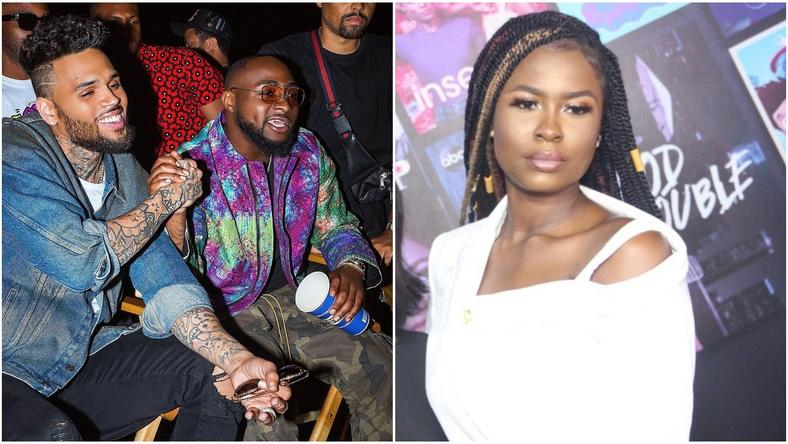 BBNaija's ex-housemate, Ella has impressed Davido with a cover of 'Blow My mind'. [Instagram/Davidooficial/bbnaija 2019]