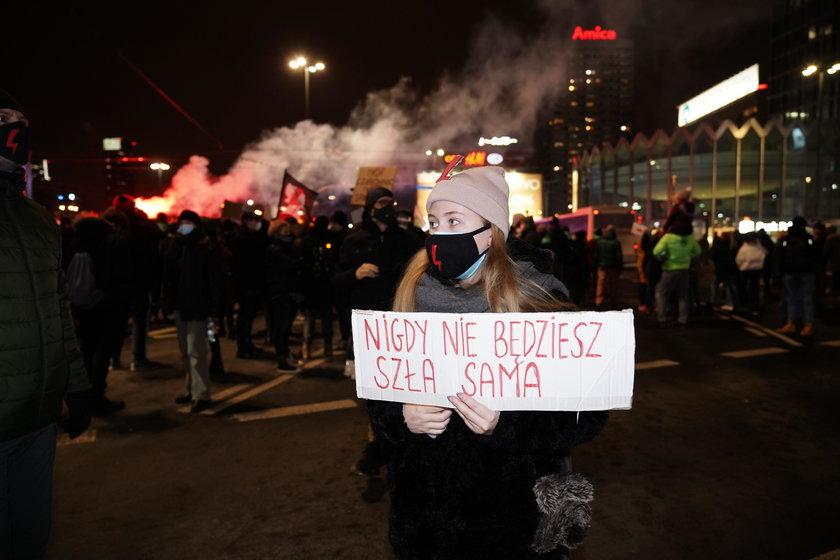 Strajk kobiet.