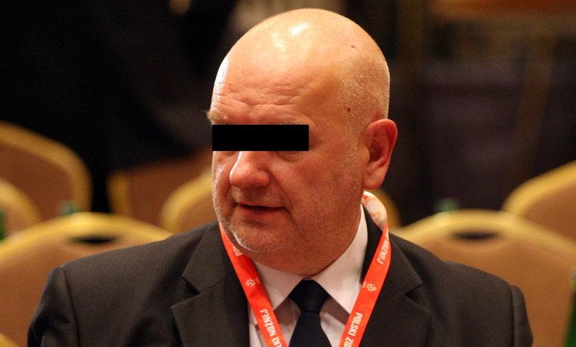 Waldemar B. szef OZPN w Częstochowie zatrzymany