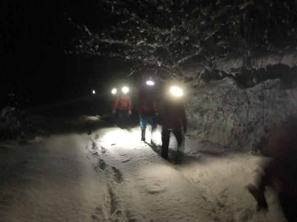 Potraga za izgubljenim skijašima