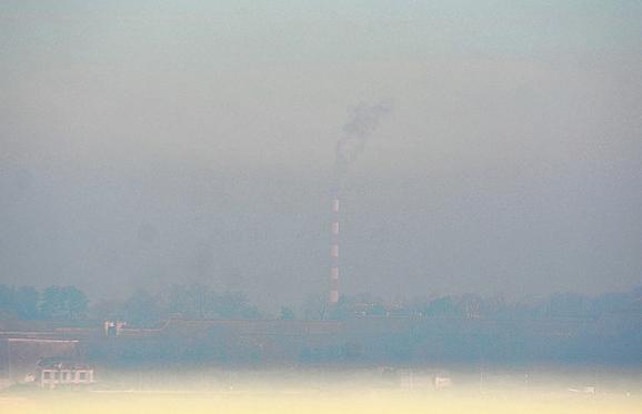 Na zagađenje utiče i magla koja zadržava zagađen vazduh pri zemlji