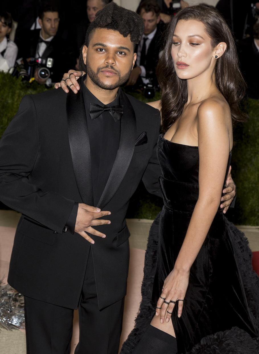 Bela Hadid i The Weeknd